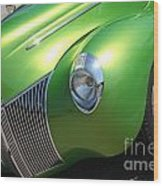 40 Ford - Front Driver Angle-8665 Wood Print