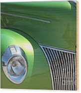 40 Ford - Front Pass Angle-8651 Wood Print