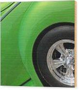 40 Ford-driver Rear Wheel-8581 Wood Print