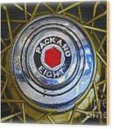 41 Packard Wheel Wood Print