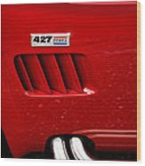 427 Ford Cobra Wood Print by Gordon Dean II