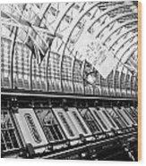 Leadenhall Market London Wood Print
