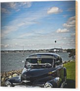 '47 Chevy By The Bay Wood Print