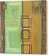 4panel Wood Print