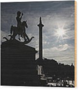 4th Plinth 3 Wood Print by Jez C Self