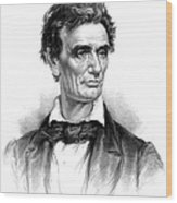 Abraham Lincoln, 16th American President Wood Print