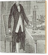 Alessandro Volta, Italian Physicist Wood Print by Science Source