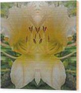 Angelic Lily Wood Print
