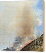 Barnett Fire Wood Print