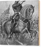 Benjamin Harrison Wood Print