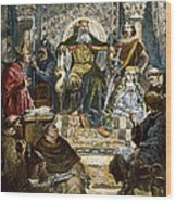 Charlemagne (742-814) Wood Print