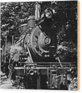 Climax Geared Locomotive Wood Print