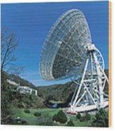 Effelsberg Radio Telescope Wood Print