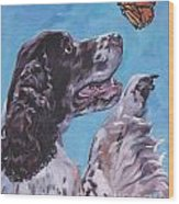 English Springer Spaniel Wood Print