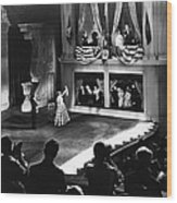 Film Still: Abraham Lincoln Wood Print