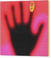 Fingerprint Scanning Wood Print