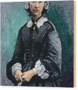 Florence Nightingale, English Nurse Wood Print