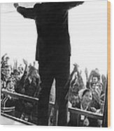 Former Vice President Richard Nixon Wood Print by Everett
