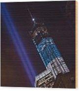 Ground Zero Freedom Tower Wood Print