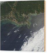 Gulf Oil Spill, April 2010 Wood Print