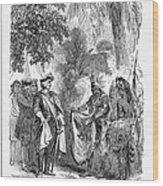 James Edward Oglethorpe Wood Print