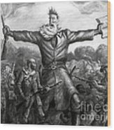 John Brown, American Abolitionist Wood Print by Photo Researchers