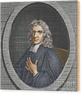 John Flamsteed, English Astronomer Wood Print