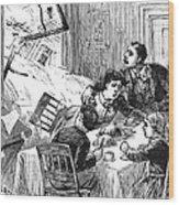 Johnstown Flood, 1889 Wood Print