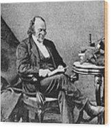 Louis Agassiz, Swiss-american Polymath Wood Print