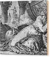Louis Xv (1710-1774) Wood Print