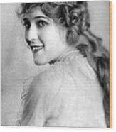 Mary Pickford, Ca. 1918 Wood Print