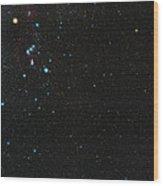 Orion Constellation Wood Print