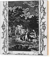 Plague Of London, 1665 Wood Print