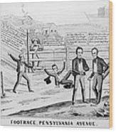 Presidential Campaign, 1844 Wood Print