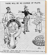 Presidential Campaign, 1904 Wood Print