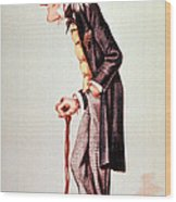 Richard Owen, English Paleontologist Wood Print by Science Source