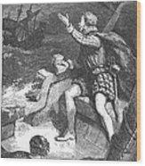 Sir Humphrey Gilbert Wood Print