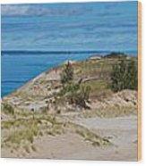 Sleeping Bear Dunes Wood Print