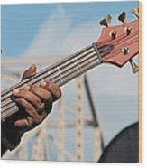 5-string Bass Wood Print