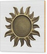 Sun Star Wood Print by Blink Images