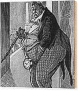 William Howard Taft Wood Print