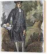 William Penn (1644-1718) Wood Print