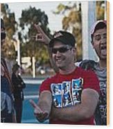Australian Deaf Games 2012 Wood Print