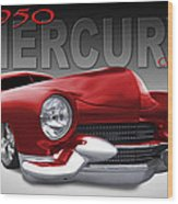 50 Mercury Lowrider Wood Print
