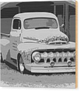51 Ford Pickup  Wood Print