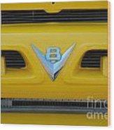 53 Ford Truck Wood Print