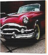 53 Packard Caribbean Convertible Coupe Wood Print
