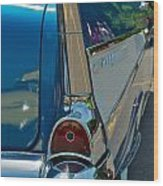 57 Chevy Bel Air 2 Wood Print
