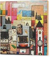 57th  Street Kaleidoscope Wood Print
