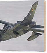 A Luftwaffe Tornado Ids Over Northern Wood Print